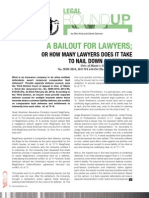 Legal Round Up, Spring 2013
