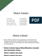 Energi Dan Dasar Konversi Energi Elektrik _ Motor Induksi, PPT