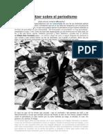Joseph Pulitzer Sobre El Periodismo