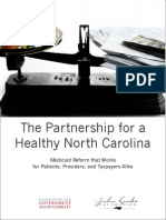 Policy Report The Partnership for a Healthy North Carolina