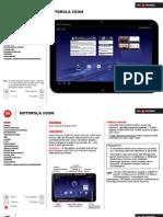 Motorola XOOM Tablet Kezikonyv (MZ 601)