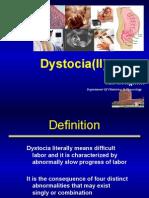 dystocia(II)