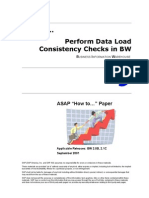 How to Perform Data Consistency Checks