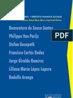 Ciudadanía y derechos humanos sociales.Boaventura de Sousa Santos, et al