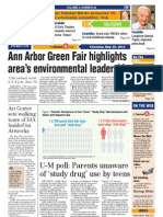 Ann Arbor Journal front page, May 30, 2013