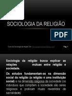 Aula de sociologia da religião