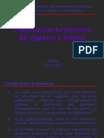 Clasificacion Economica Ingresos y Gastos
