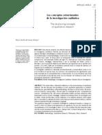 Los Conceptos Estructurantes de La Investigacion Cualitativa