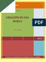 CREACIÓN DE UNA MARCA