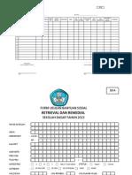 Format Usulan Bansos 2013