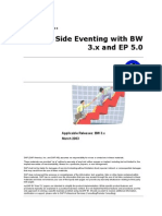 How to Client Side Eventing With BW 3.x and EP 5.0