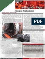 CSB Digest Union Carbide Nitrogen Asphyxiation (1998)