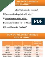 Energy Utilisation