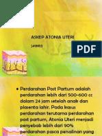 Askep Atonia Uteri