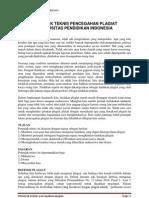 Petunjuk Teknis Pencegahan Plagiat UPI