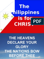 The Philippines is for Christ