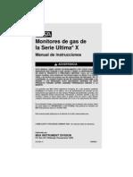 Manual Ultima x