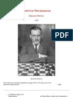 Edward Winter - Alekhine Renaissance