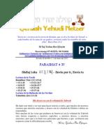 Parashat Shelaj Leka # 37 Adul 6013
