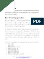 Definicion e Historia de Excel