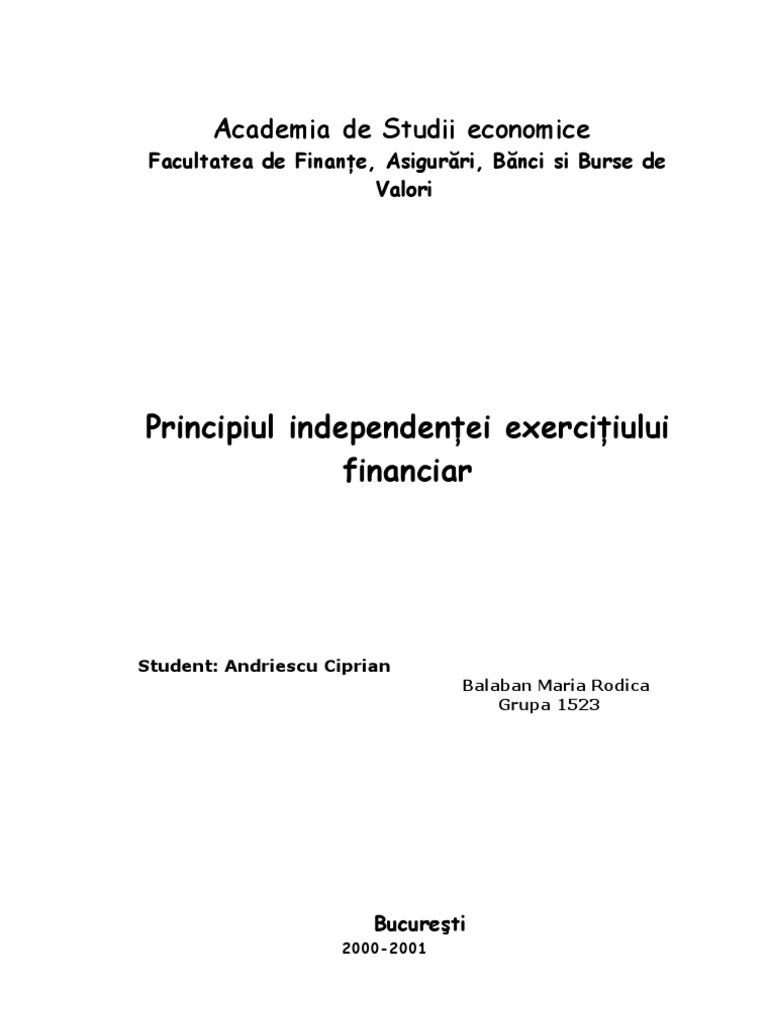 formarea independenței financiare Ofer bani ușori