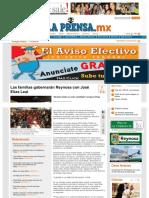 28-05-2013 Las familias gobernarán Reynosa con José Elías Leal