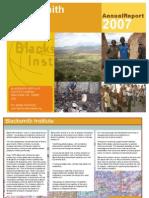 Blacksmith's Report