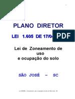 Lei 1605_85 - Zoneamento, uso e ocupação do solo