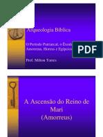 O Período Patriarcal - Prof. Milton Torres