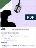 Psicologia e introducción