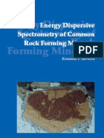 Energy Dispersive Spectrometry of Common Rock Forming Minerals Severin (2004) 228p