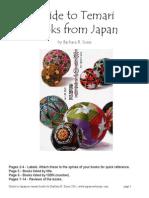 Guide to Japanese Temari Books