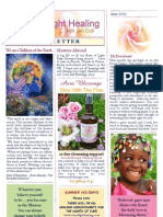 Rose of Light Healing Newsletter June 2013