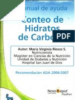 Manual de Ayuda Conteo de Hidratos de Carbono - Riesco, M..pdf