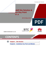Huawei eNodeB Site Solution and Installation Key Point