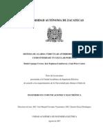 Sistema de alarma vehícular antirrobo (19)