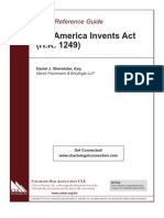 The America Invents Act - A Quick Guide
