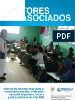 Factores Asociados Primaria Mineduc Junio2011