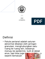 fistula perianal