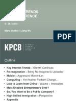 KPCB Internet Trends 2013