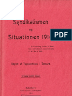Syndikalismen og Situationen 1916