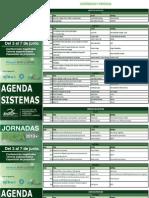 Agenda Jornadas FICA - Ingeniería en Sistemas