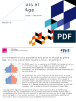 Les Français et le grand âge - mai 2013