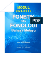 Modul Fonologi - UPSI