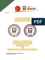 Informacion Sobre Examen Para Certificacion Para Bomberos