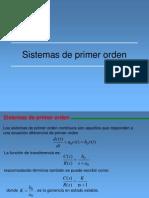 Clase6Sistemas de Primer Orden