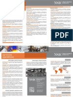 NSIC Compact Brochure (ESP)
