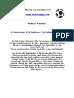 2. Liga - MSV Duisburg - Koblenz (2-3)