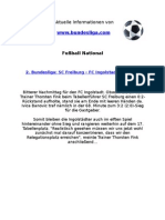 2. Liga - SC Freiburg - FC Ingolstadt (3-2)