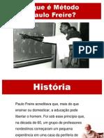 O que é método Paulo Freire